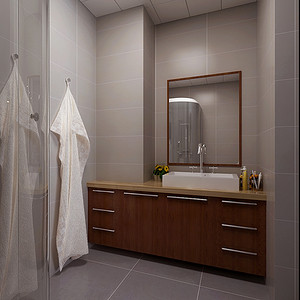 现代前卫卫生间形成一种全新的装饰感觉