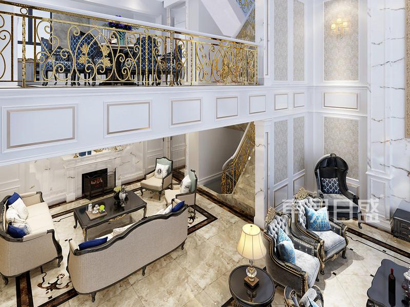 法式风格 客厅 制作工艺精细