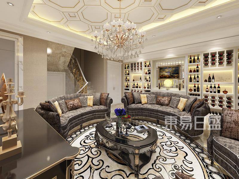 法式风格 休闲厅 优雅、高贵和浪漫