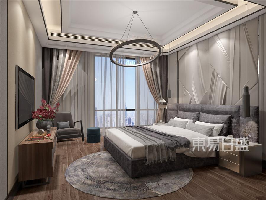 卧室-现代前卫-效果图