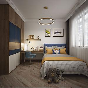 现代新极简风格儿童房装修设计