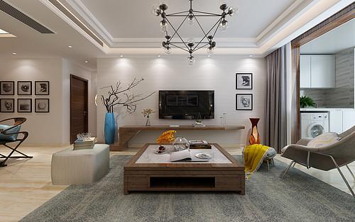 长九中心-三居室-现代简约风格