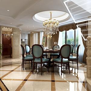 金地天逸欧式新古典风格餐厅