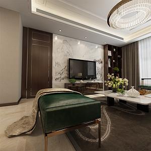 现代风格-客厅电视背景墙