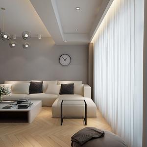 现代简约-客厅沙发背景墙