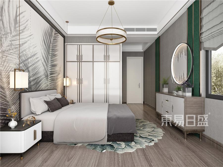 卧室-混搭-效果图