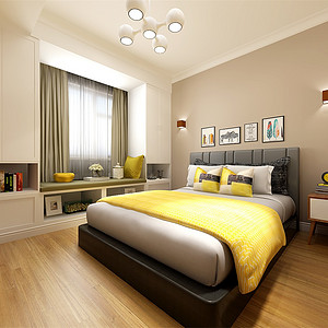 北欧-卧室