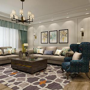 客厅空间,华丽而不张扬,典雅而不奢华;它的优雅来自于精细的家具赋予的自信与细腻别致,丰富了空间视觉效