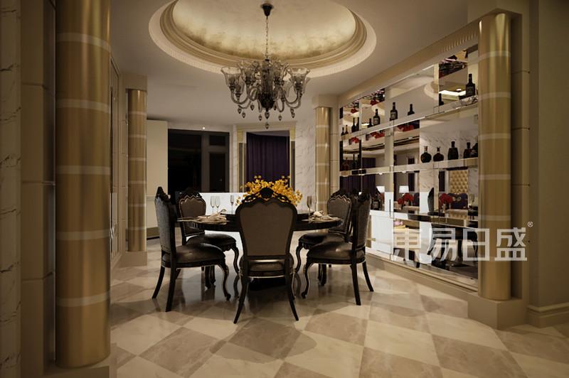欧式古典 - 餐厅2欧式装修效果图 四室三厅二卫一