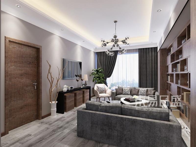 现代简约风格 客厅 简单又大方