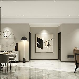 雅居乐御宾府 现代简约装修效果图 四室两厅 210平米