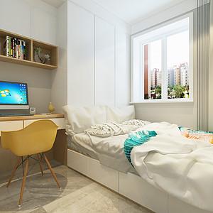 北欧风格-儿童房-装修效果图