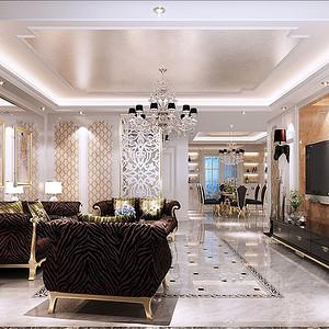 客厅从整体到局部,精雕细琢
