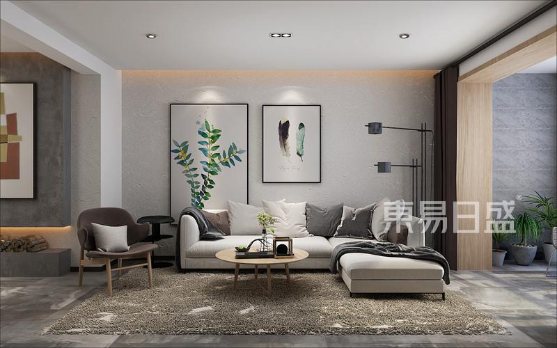 北欧客厅沙发背景墙_北欧效果图大全2018图片 1137495图片