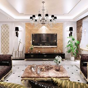 客厅鲜活、时尚是品味的象征