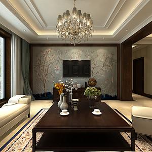 碧桂园天墅198平美式风格案例