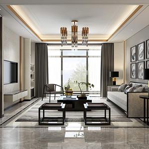 东一时区-105平米-新中式风格