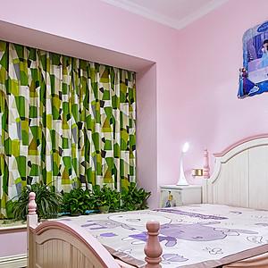 御龙天峰+现代装修风格+卧室