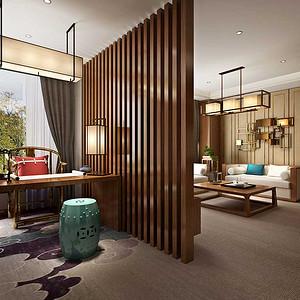金兰阁旅游酒店+中式风格