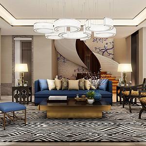 紫乐府-东方风格-480平米