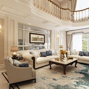 现代欧式-客厅