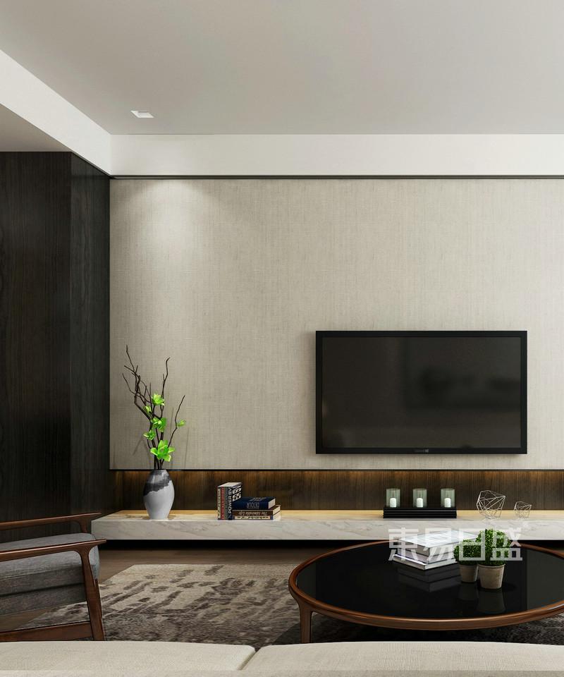 新中式 - 中式客厅电视背景墙