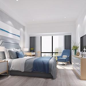 北欧风格 卧室装修效果图