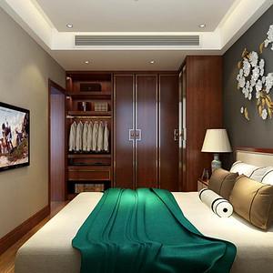 小西湖_120平米_新中式风格卧室