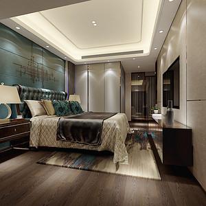 现代简约风格 卧室装修效果图片