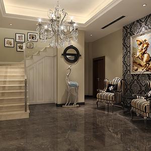 欧式新古典-客厅