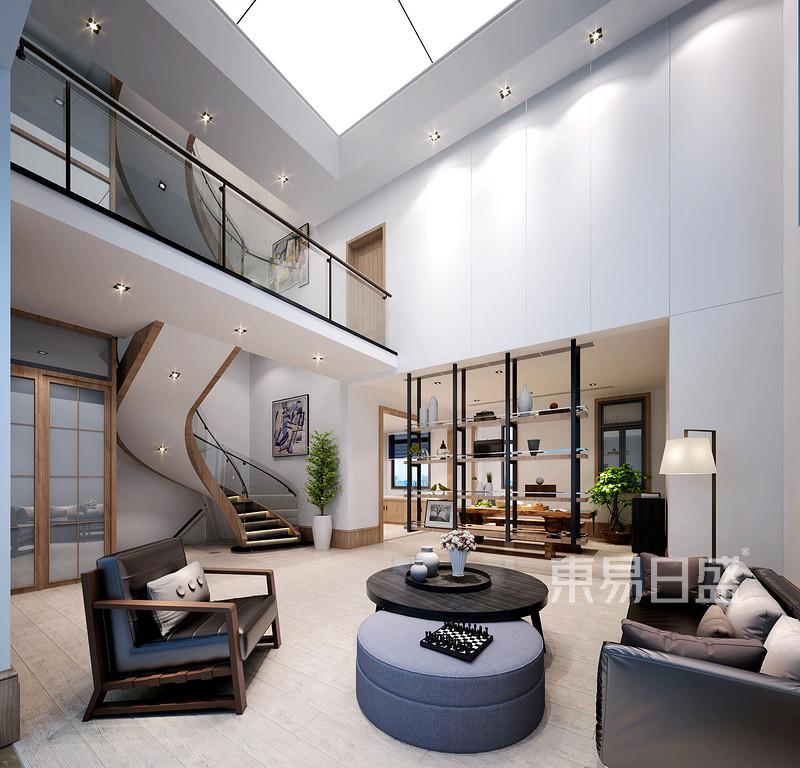 别墅现代简约装潢性状style成果图