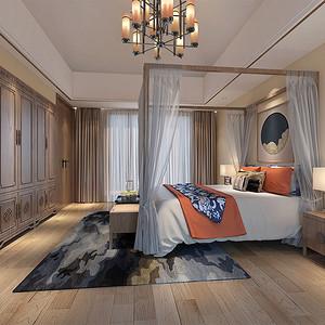田园东方新中式卧室