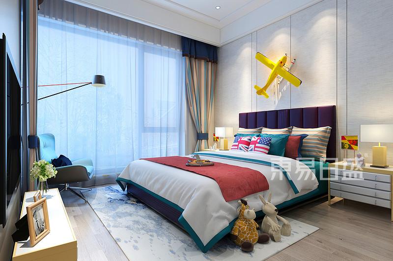 极简风格儿童卧室装修效果图