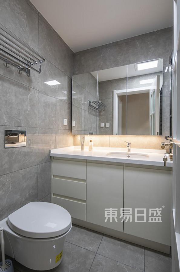 卫生间装修实景图 西安装修公司 http://xa.dyrs.com.cn 优游时时彩装饰公司