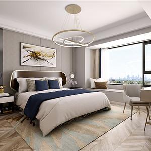 现代简约风格卧室