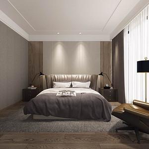 现代简约 客厅装修效果图 三室两厅