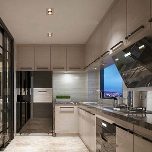 后现代风格厨房装修设计