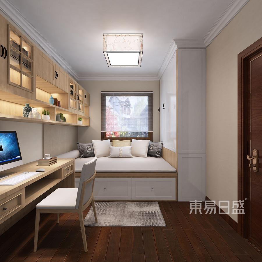 盛达新城小区现代新中式风格儿童房装修效果图