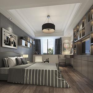 现代简约风格 卧室装修效果图