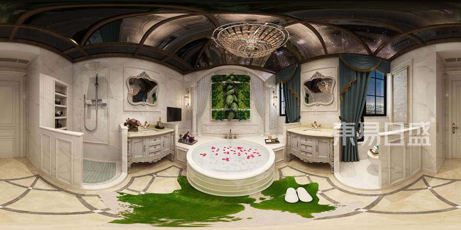 卫生间-美式混搭-效果图