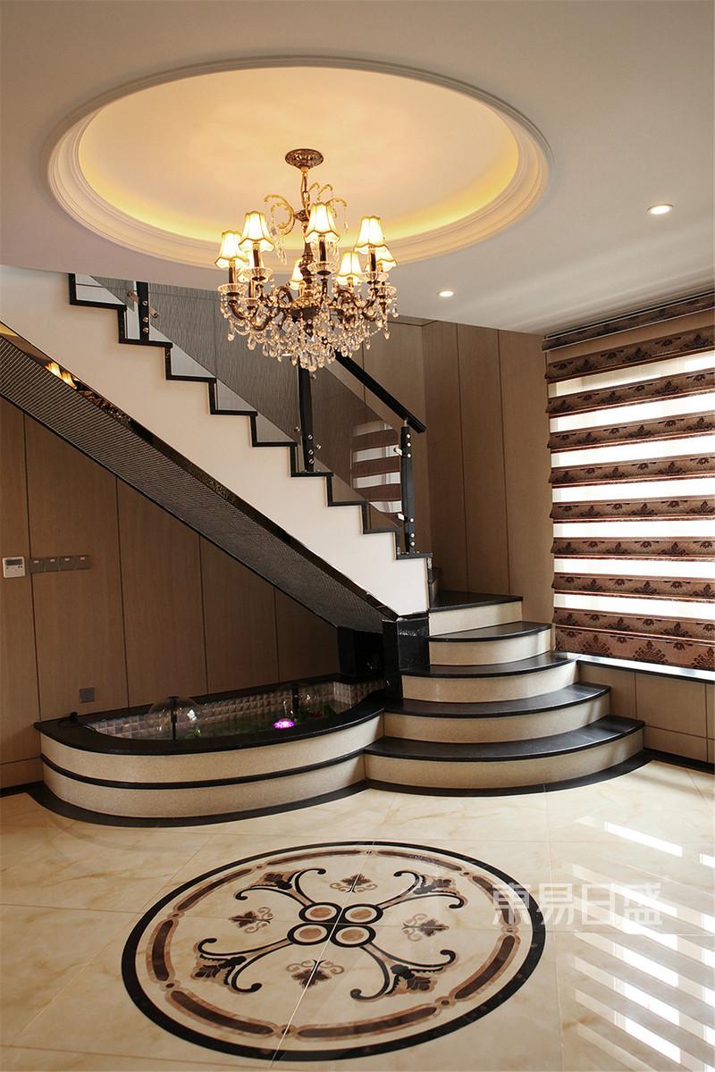 欧式古典 - 柏翠园欧式古典楼梯间装修效果图