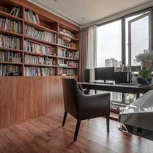 现代简约风格书房