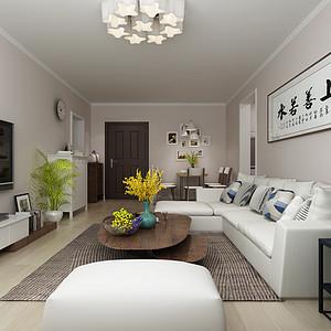 良志嘉年华小区-89平米-现代简约风格