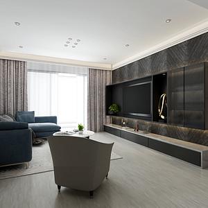 北欧风格 客厅装修效果图 120平米