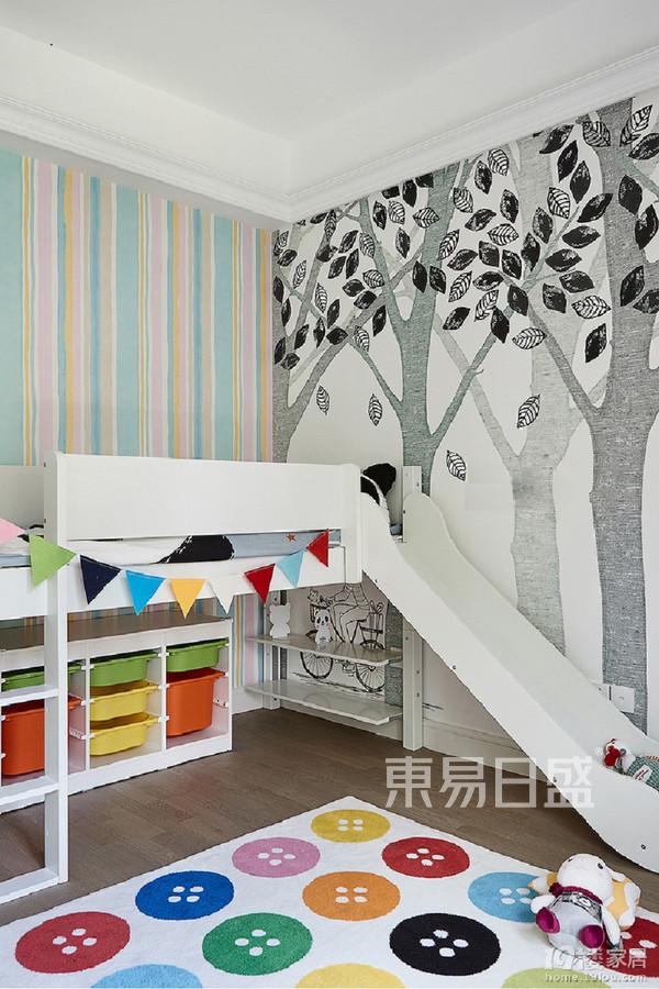 三室两厅装修-法式风格装修案例-儿童房装修效果图
