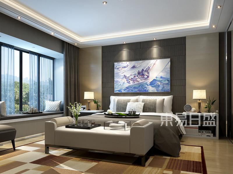 现代轻奢卧室装修效果图