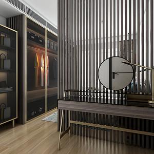 北欧风格 卧室装修效果图 120平米