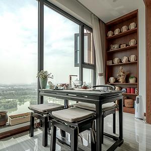 现代简约风格阳台茶室