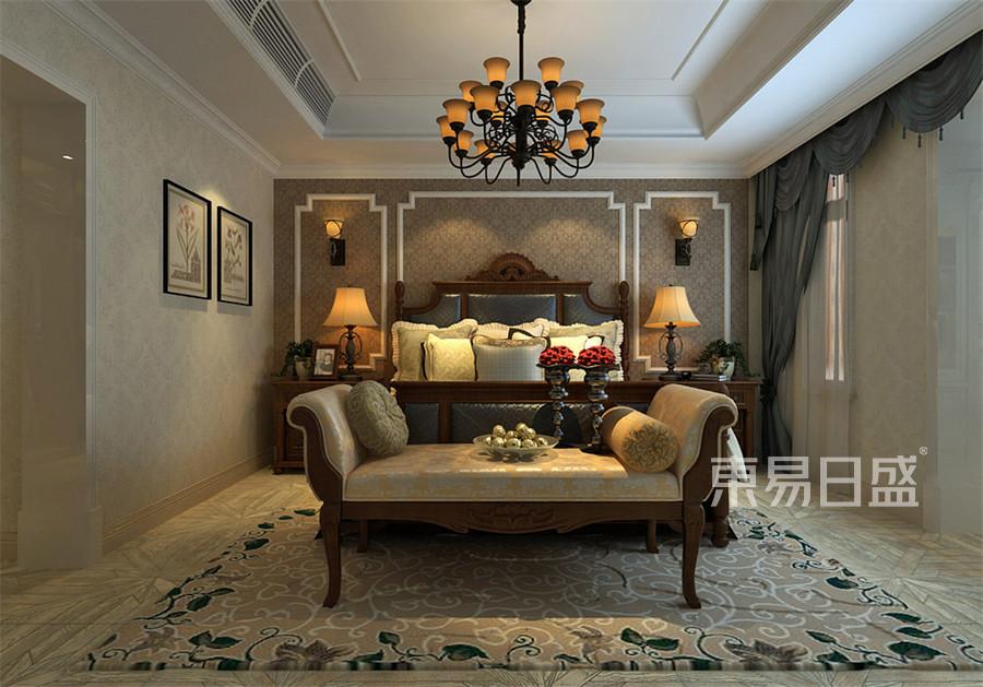 金隅乐府-美式作风-寝室结果图