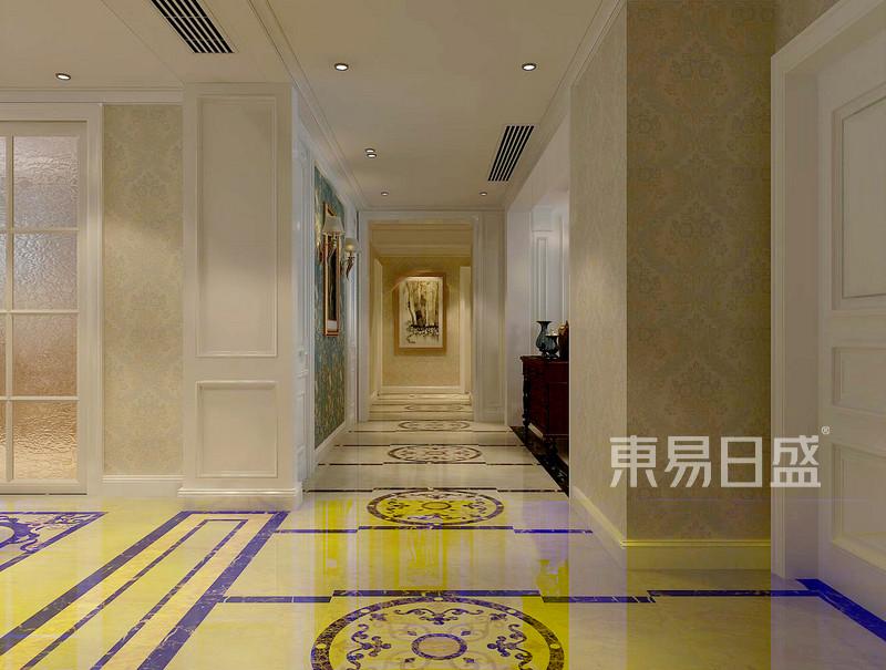 欧式风格-走廊-装修效果图